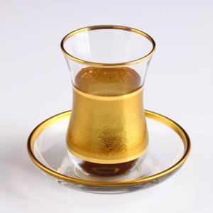 Akba Şöhret Varak Bant 12 Parça Çay Takımı