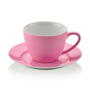 Noble Life Şeker Serisi Pembe Çay Fincan Takımı 25556