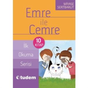 Emre ile Cemre - İlk Okuma Serisi (10 Kitap Takım)-Miyase Sertbarut