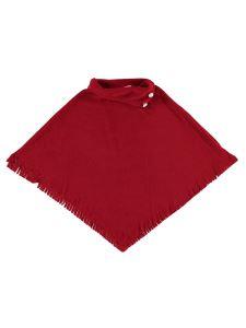 Civil Girls Polar Boğazlı Pelerin 6-9 Yaş Kırmızı