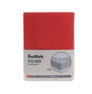 Özdilek Colormix Tek Kişilik Fitted Çarşaf Kırmızı