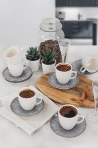 Keramika Lines Kahve Takımı 12 Parça 6 Kişilik - 19076