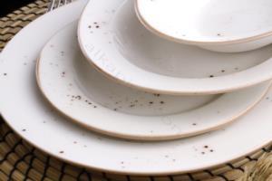 Acar 24 Parça Defne Porselen Yemek Takımı