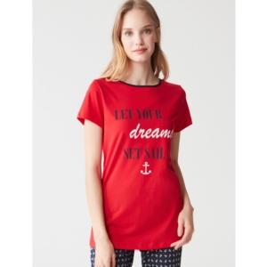 Mod Collection 3275 Bayan Pijama Takımı Kırmızı