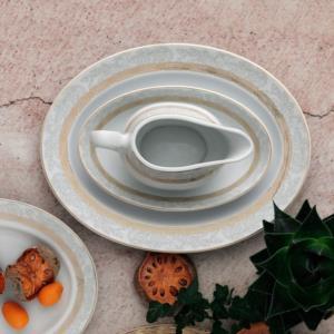 Güral Porselen 84 Parça Yuvarlak Tolstoy Yemek Takımı 9401268