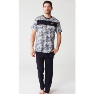Mod Collection 3252 Erkek Pijama Takımı Lacivert