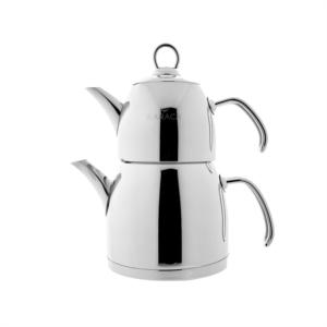 Karaca Venüs Mini Çaydanlık Metalik