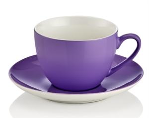 Noble Life Şeker Serisi Lila Çay Fincan Takımı 21466