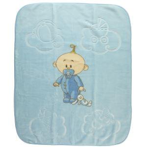 Golden Bebek Battaniye 105X125 CM Mavi