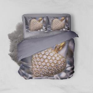 Minteks Çift Kişilik 3D Nevresim Takımı - Precious- 16159