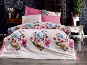 Bedbox Çift Kişilik Ranforce Dandelion Desenli Nevresim Takımı 3043