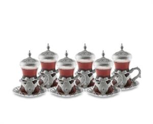 Sena Kuşaklı Çay Seti 6'lı Kutu 200-K 11