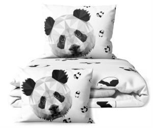 Poni Çift Kişilik 3D Dijital Baskılı Nevresim Takımı Panda