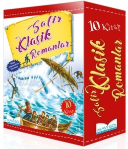 Safir Klasik Romanlar Serisi (10 Kitap)-Jules Verne, Herman Melville, Jonathan Swift, Victor Hugo,