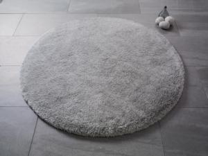 Confetti Home Miami Gri Ø 150 cm Banyo Halısı