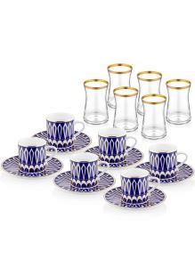 18 Parça Kahve & Çay Seti