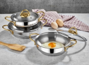 Polo Chef 6 Parça Proline Omlet Seti Gold POG-101
