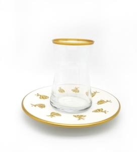 Özcam Kristal 12 Parça 6 Kişilik Çay Takımı D-1744