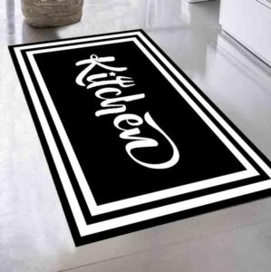 Kozzy Home Dijital Baskılı Kaymaz Halı RFE6253