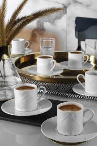 Kütahya Porselen Eren Kahve Takımı
