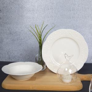 Güral Porselen 24 Parça Dilruba Bone Yemek Seti