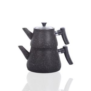 Bayev Bakalit Saplı Granit Çaydanlık 200470- Siyah