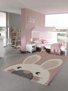 Merinos Pastel Kids Çocuk Halısı  20341 255-Pink