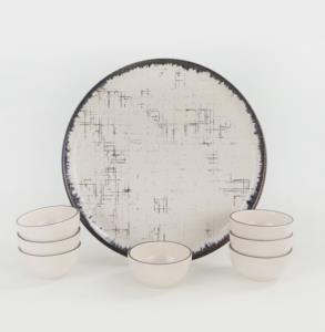 Keramika Line Hitit Kahvaltılık 8 Parça