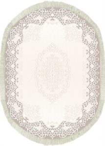 Decovilla Halı Dantel Vizon 11003-101