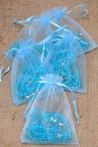 Hediyelik Tesbih - Mavi Renk - Bebek Mevlüt Hediyesi