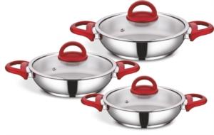 Sofram 6 Parça Vista Kırmızı Omlet Seti