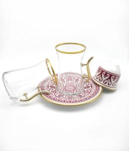 Özcam Kristal 18 Parça Çay Takımı D-1523