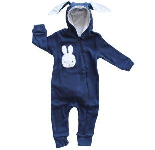 Yeni Model Laci Tavşan Kulaklı Ponponlu Bebek Tulum