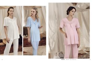 Artış Collection 8203 Bayan Lohusa Pijama Takımı Mavi