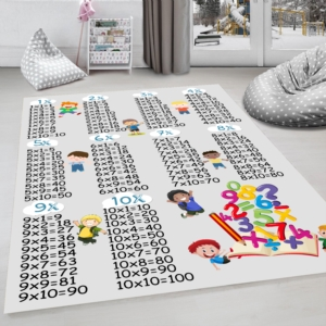 Milano Halı Kaymaz Tabanlı Çocuk Halısı Yıkanabilir Dot Taban HP-674
