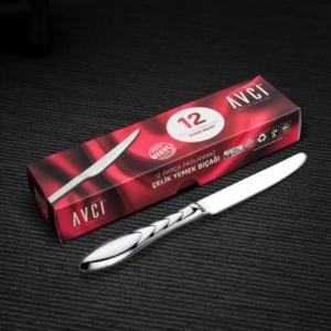 Avcı Platin 12 Parça Yemek Bıçağı PLT-12