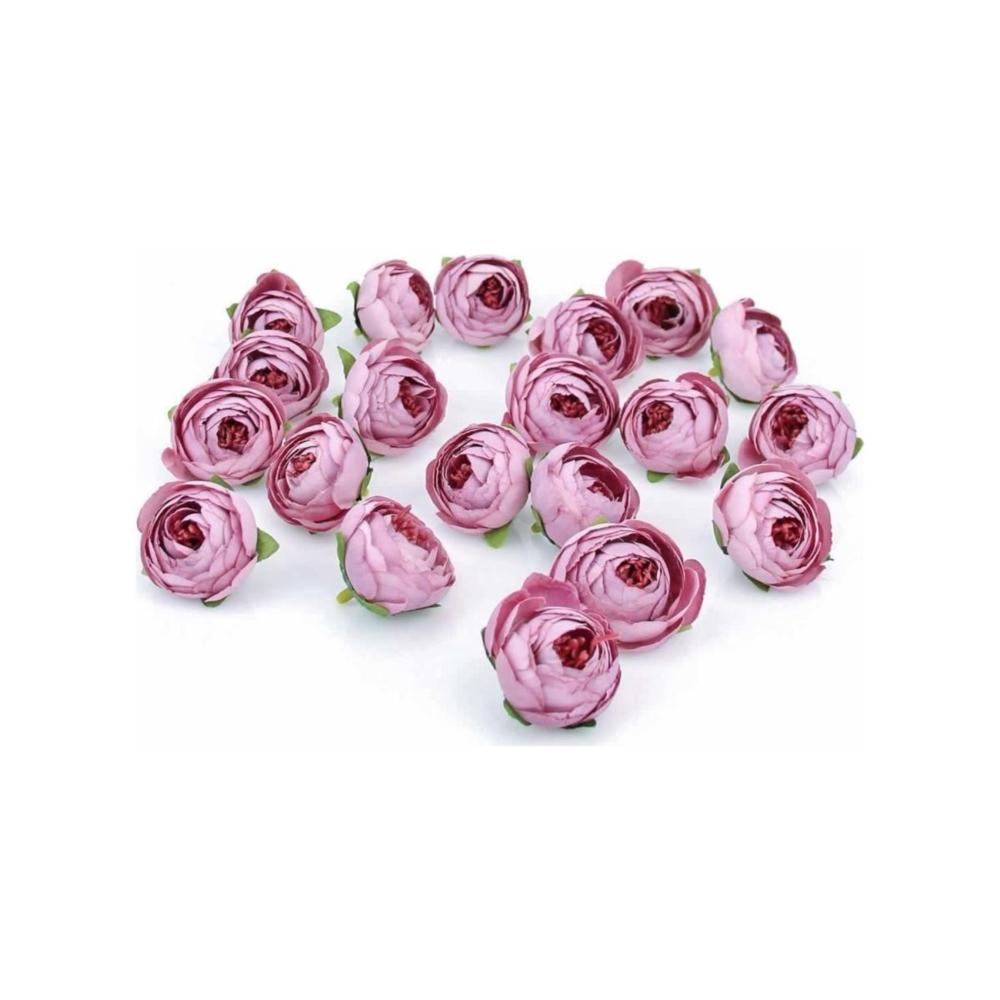 Arma House Açık Lila 20 Adet Kafa Şakayık Çiçek ( Yapay Çiçek ) -  Alkapida.com