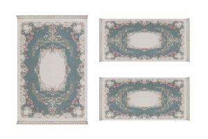 ALANUR ALMİRA YATAK ODASI HALISI 3 lü Set ( 80 x 150 + 2 adet 60 x 100 ) AL310C077