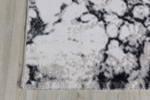 Koza Halı Nazlı Beyaz-Siyah Halı- 07171A