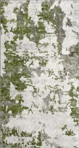Yıltaş Dijital Baskılı Kaydırmaz Halı 7003 Yeşil