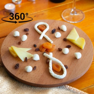 Joy Kitchen Dönen Düz Servis Standı - 30 Cm UP00560