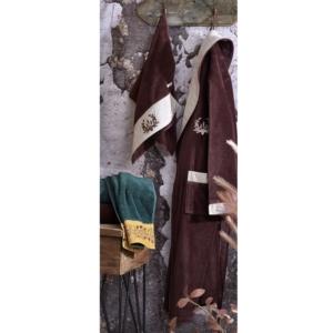 Ecocotton Organik Pamuk Bay Bornoz Seti - Pietra