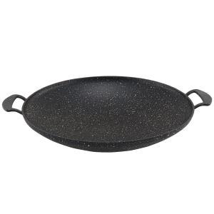 Cookbella 30 Cm Granit Kavurma Sacı Siyah