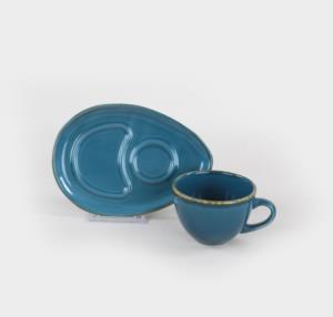 Keramika Safir  Çay Sunum Seti 4 Parça 2 Kişilik