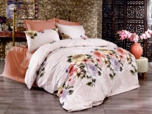 Bedbox Çift Kişilik Ranforce Garden Desenli Nevresim Takımı 3040