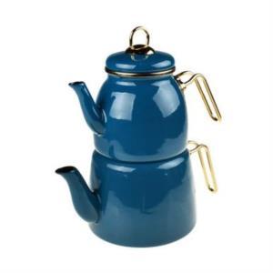 Bambum Taşev Miray Çaydanlık Takımı Mavi
