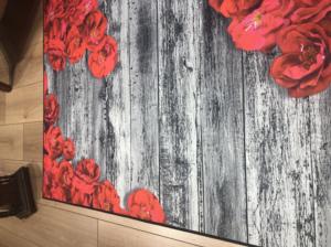 Markaev 3D Polyester PVC Tabanlı Halı 815