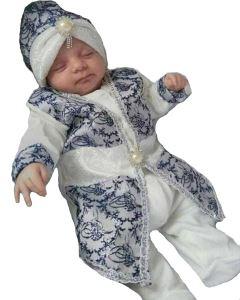 Tuğra Laci Gümüş Şehzade Erkek Bebek Mevlüt Takımı