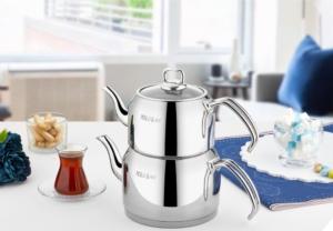 Polo Chef Hüsnü Ala Mini Boy Çaydanlık Takımı HÜÇ-101