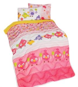 Zambak-Home Bebek Yorganı Ve Yastık Kılıfı- 11390-02